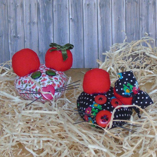 Topini puntaspillo handmade - Le Cappellaie Matte