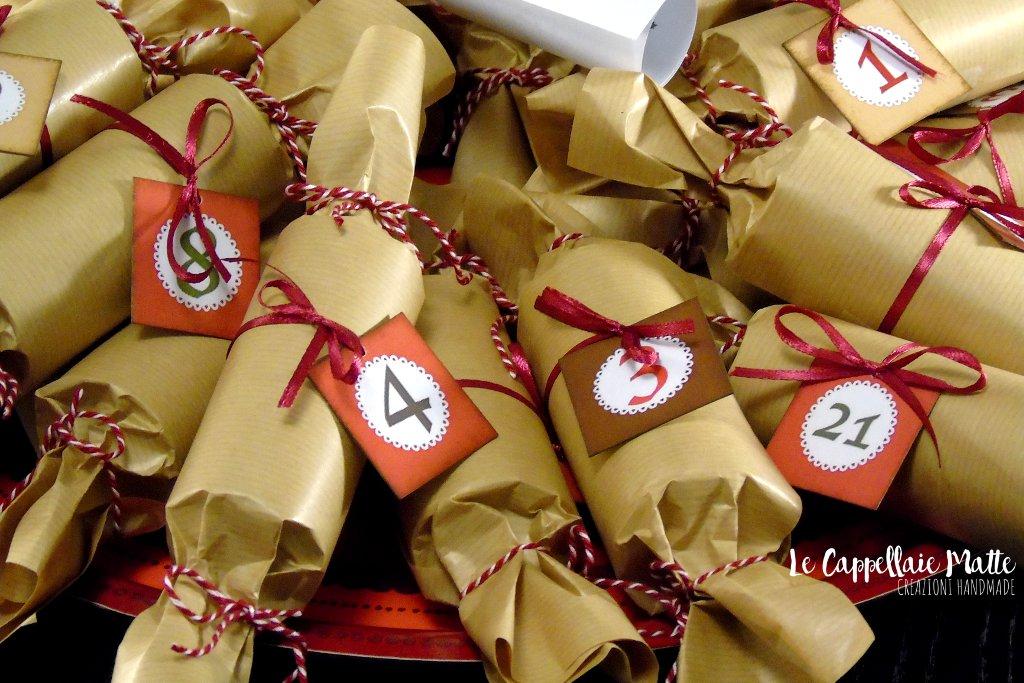 Calendario avvento handmade