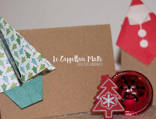Segnaposto natalizi origami fai da te – Tutorial