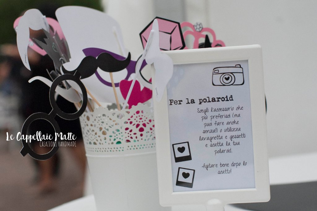 Photobooth matrimonio tema polaroid
