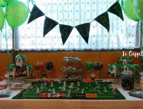 Una festa a tema calcio