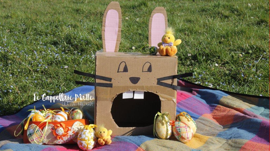 Coniglietto Pasquale Riciclo creativo