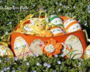 Cestino feltro Pasqua diy fatto a mano