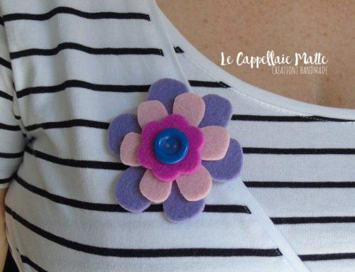 Spilla handmade per la Festa della mamma – Tutorial