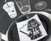 Festa a tema Star Wars - Star Wars Party - Allestimento tavola