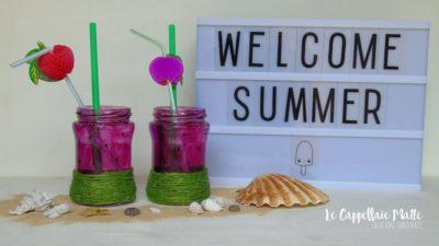 Bicchieri anguria fai da te - Riciclo creativo
