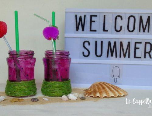 Una bibita ghiacciata al sapore di anguria – Riciclo creativo