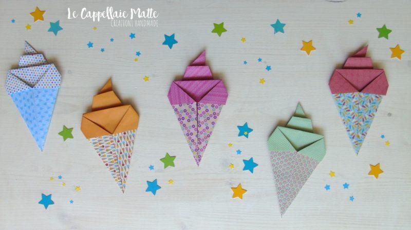 Calamite origami gelato