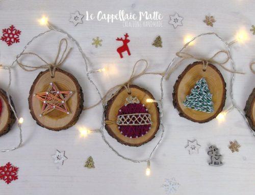 String art per Natale – decorazioni albero fai da te