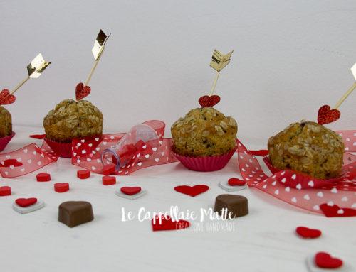 Frecce di Cupido scoccano su deliziosi muffin ai mirtilli – Tutorial Diy