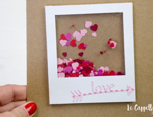 """Mille cuori per dire """"Ti amo"""" – Tutorial Cardmaking San Valentino"""