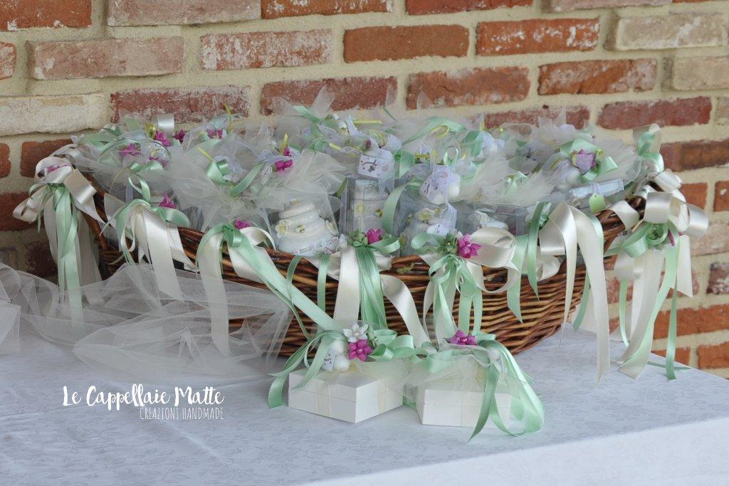 Bomboniere matrimonio handmade