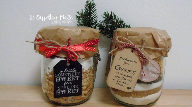 Cookies in barattolo - Regali handmade