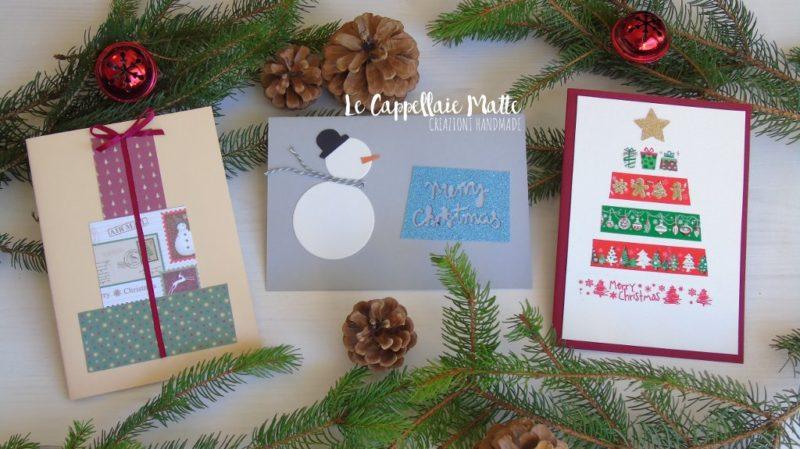 Tutorial Biglietti Di Natale.Biglietti Di Natale Fai Da Te Cardmaking Tutorial Le