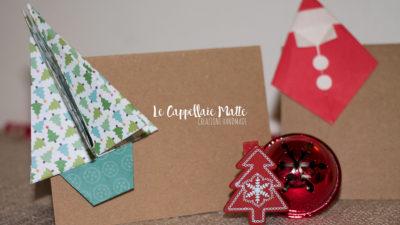 Segnaposto Natale origami faidate diy cover