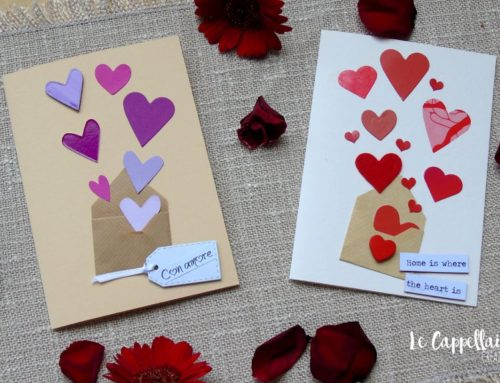 Biglietti di San Valentino fai da te – Cardmaking tutorial