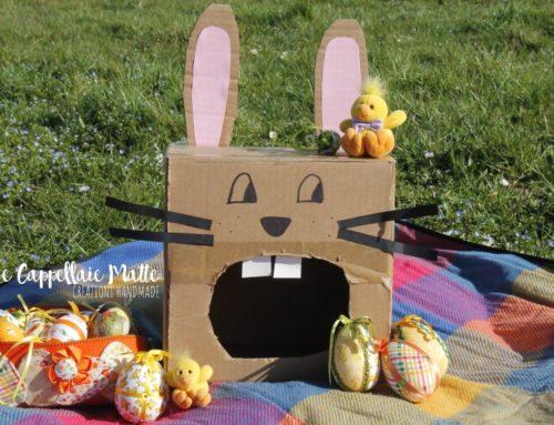 Il coniglietto pasquale – Riciclo creativo