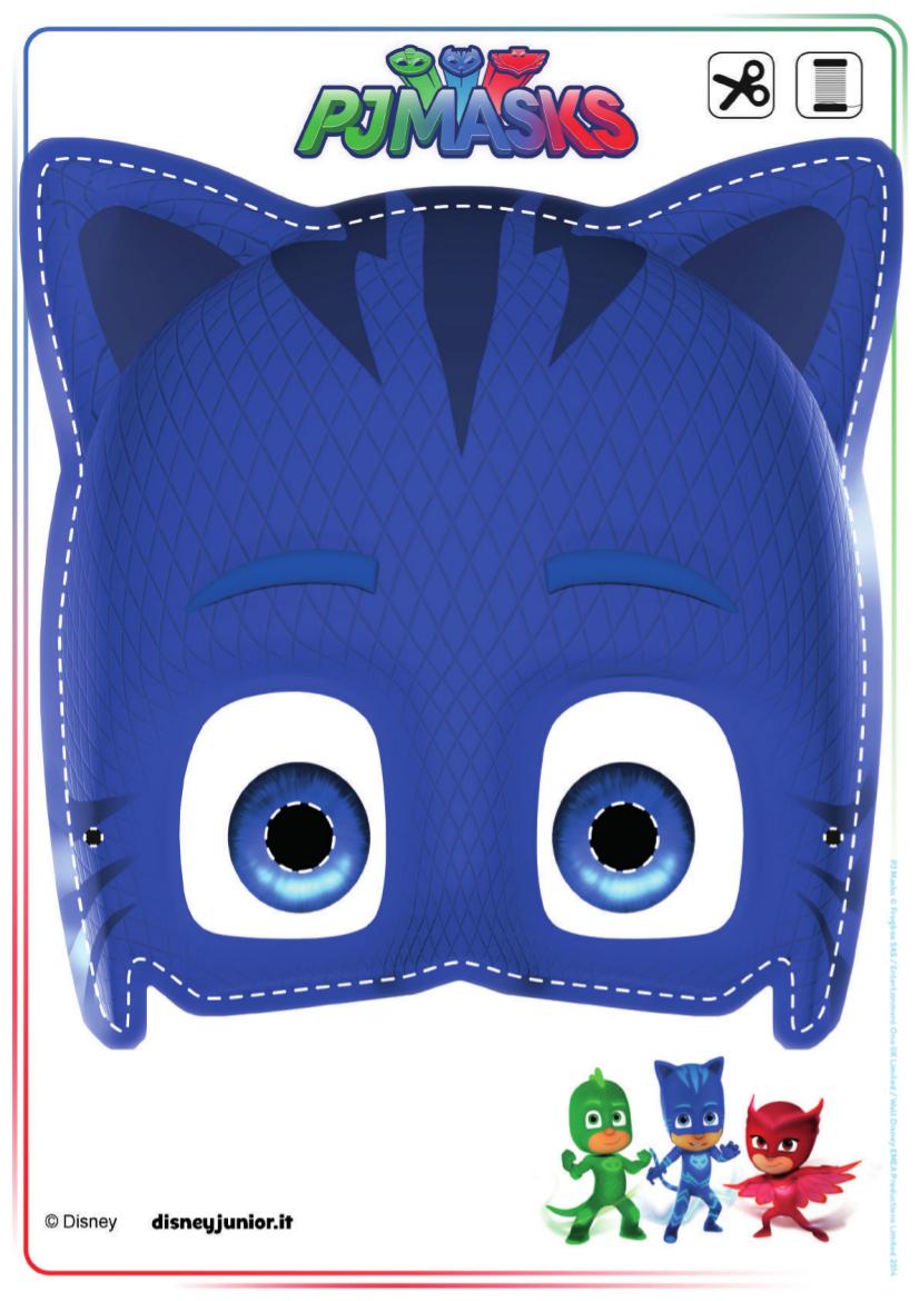 Maschera Catboy Pj Mask