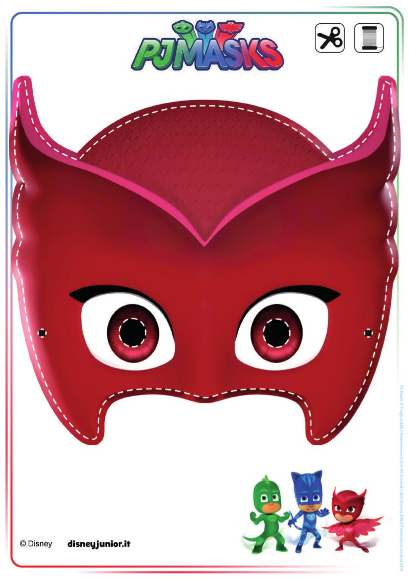 Maschera Owlette Pj Mask