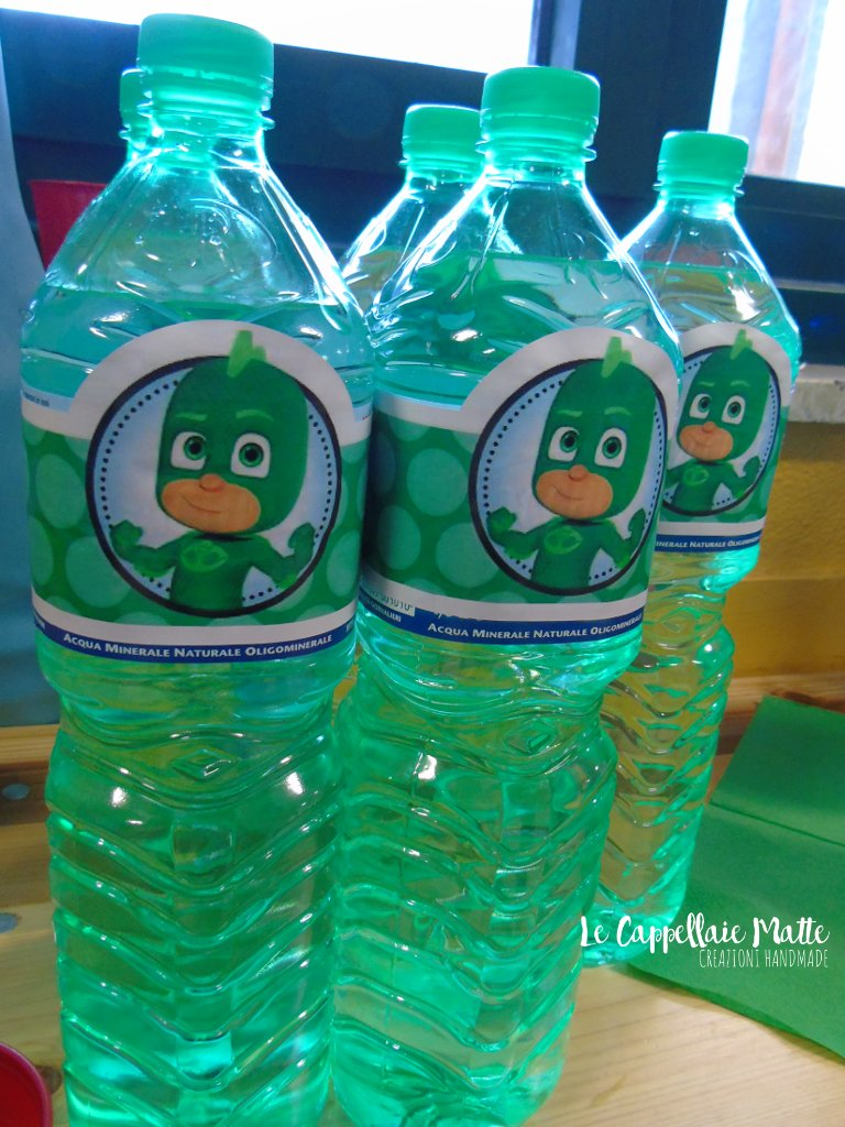 Pj Masks Party Bottles Decorations