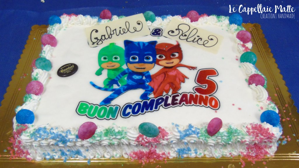 Pj Masks Party Cake