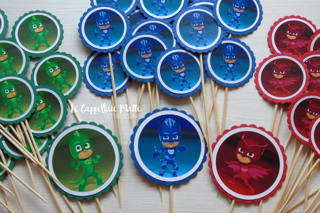 Pj Masks Party Toppers