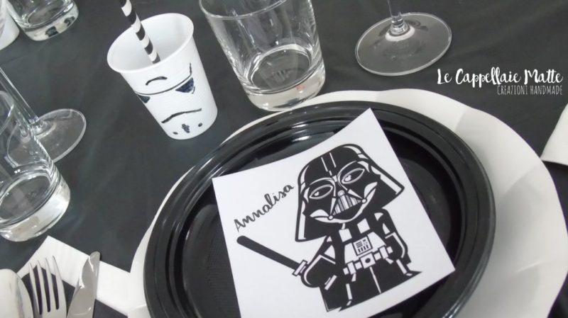 Auguri Matrimonio Star Wars : Cialda personalizzata star wars tonda stampa su pasta di zucchero