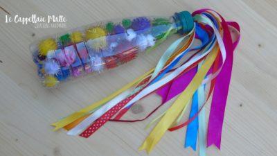 Bottiglia sensoriale arcobaleno diy