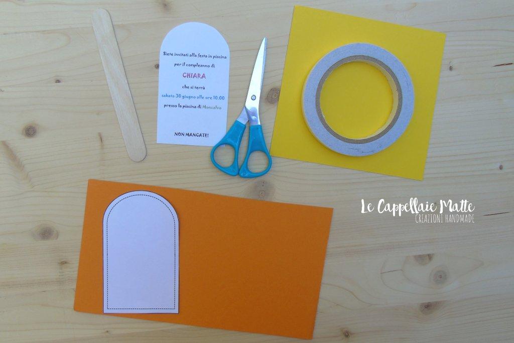 Inviti ghiacciolo fatti a mano - Cardmaking