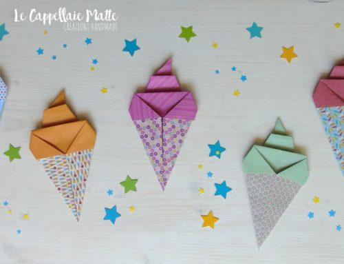 Come ti attacco il gelato al frigo – Origami Gelato Calamite – Tutorial