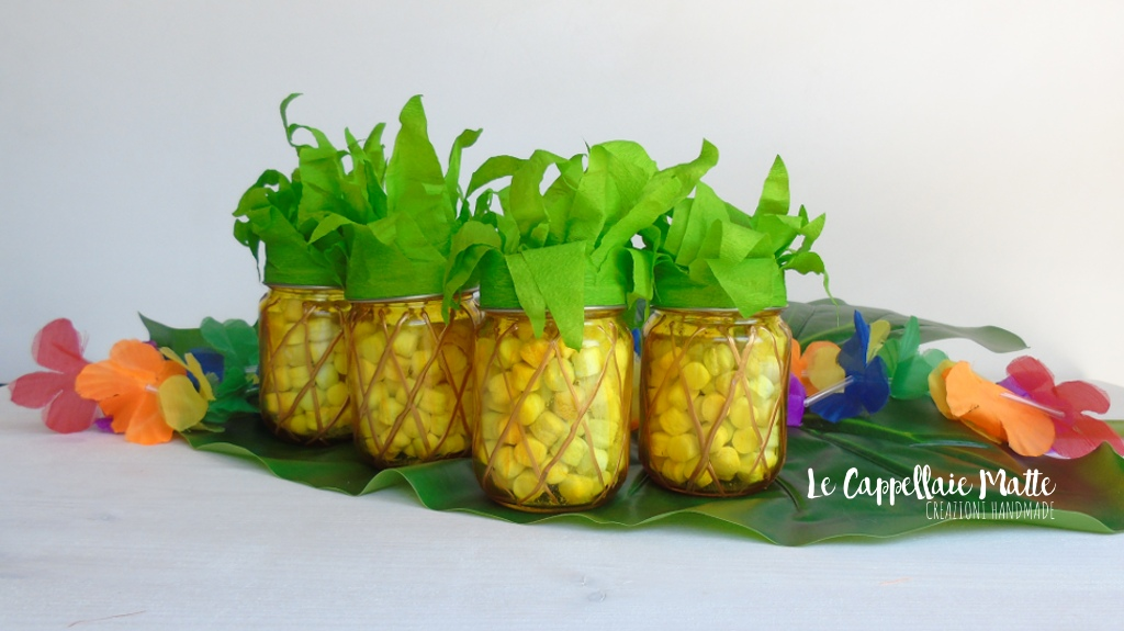 Ananas party favors pineapple