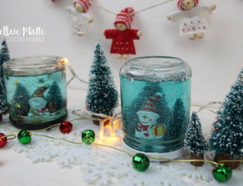 Sfera di neve natalizia – Tutorial diy