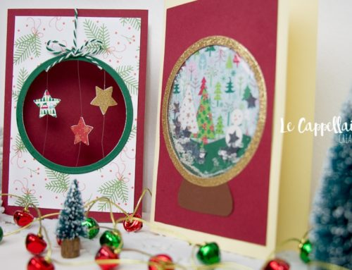 Christmas Suspension Card tutorial