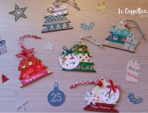 Tag natalizie in legno – un regalo due in uno!