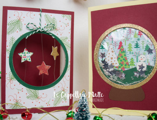Shaker card sfera neve – Tutorial cardmaking diy