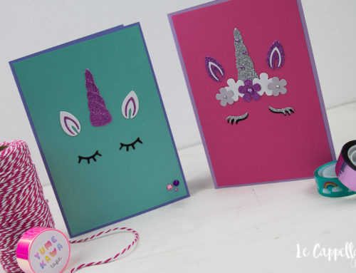 Una card magica – Unicorno Cardmaking Tutorial