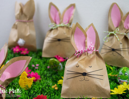 Bunny Party Favors: dolci sacchettini coniglio per leccornie pasquali – Tutorial
