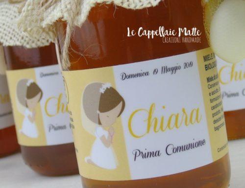 Una dolcezza di bomboniera per la Prima Comunione di Chiara