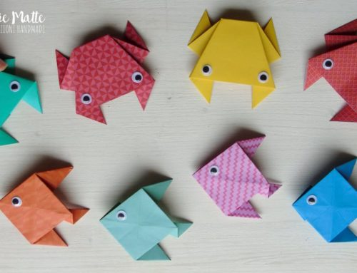 Benvenuta estate! Sole, mare e… origami! Granchio e Pesciolino Video tutorial
