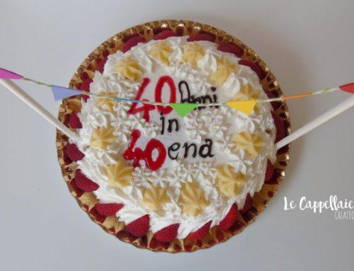 Festone arcobaleno per una torta speciale – Cake topper bandierine fai da te