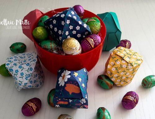 Pasqua tra uova origami e di cioccolato! Videotutorial DIY
