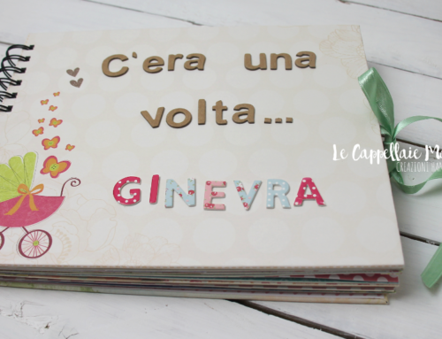 Un album personalizzato per la nascita di Ginevra