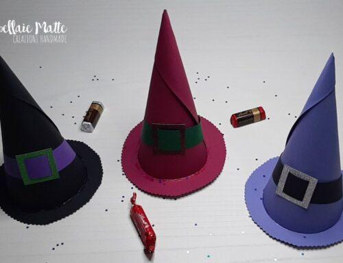 La Befana sta arrivando! Cappellini ripieni di dolcetti – Videotutorial diy
