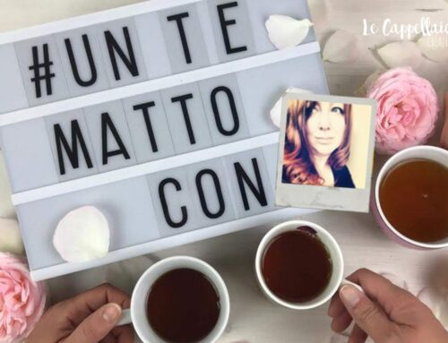 È di nuovo l'ora del tè! – #untemattocon Claudia di Orocreativo