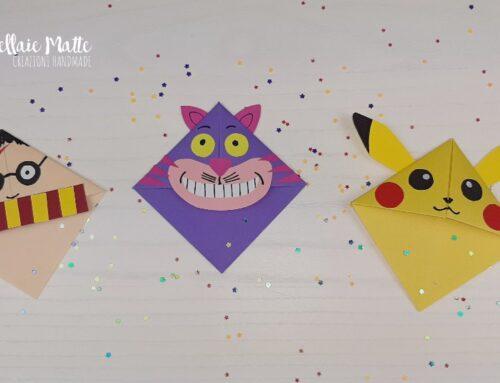 Segnalibro origami alternativi – Video tutorial