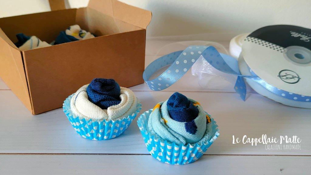mini muffin calzini neonato