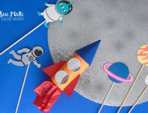 Crea il tuo razzo spaziale utilizzando il rotolo di carta igienica – Riciclo creativo video tutorial