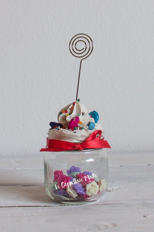 Cupcakes portafoto e portamemo