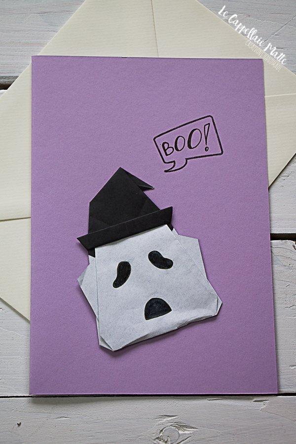 Biglietti Halloween Origami