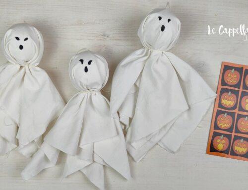 Fantasmi per Halloween fai da te